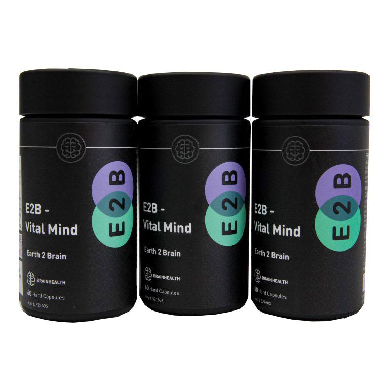 E2B Vital Mind Capsules 3 Pack